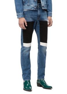 Calvin Klein Jeans Slim Fit Colorblock Jeans (Keeling Patch)