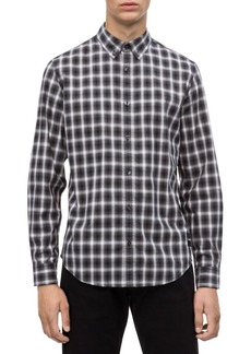 Calvin Klein Jeans Slim-Fit Nebraska Plaid Shirt