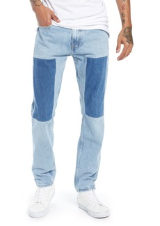 Calvin Klein Jeans Slim Fit Patched Jeans (Tash Blue)