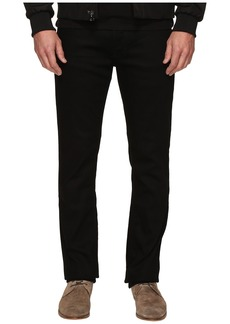 Calvin Klein Slim Straight Jeans in Clean Black Wash