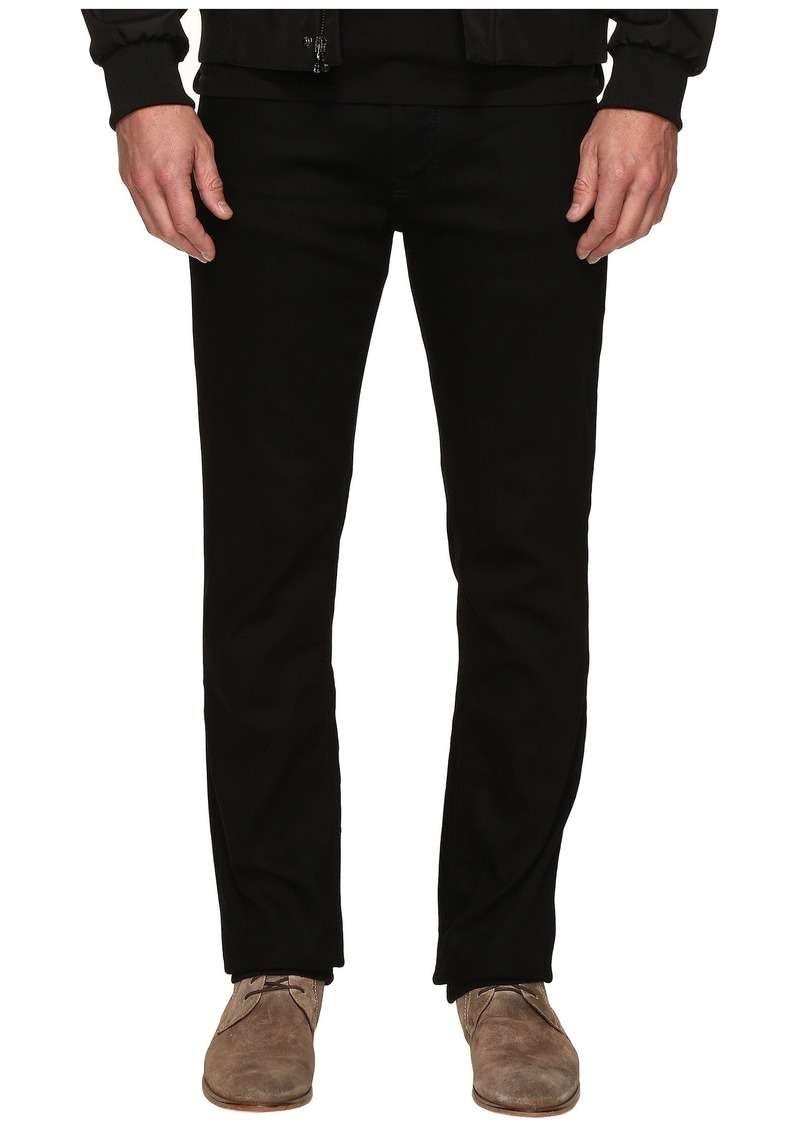 d2781373bf14d3 Calvin Klein Slim Straight Jeans in Clean Black Wash | Jeans