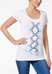 Calvin Klein Jeans Snakeskin Graphic T-Shirt