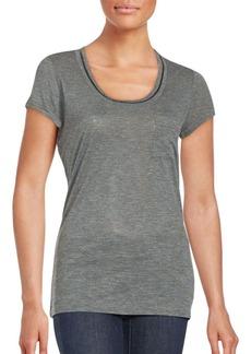 Calvin Klein Jeans Solid Scoopneck T-Shirt
