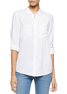 CALVIN KLEIN JEANS Solid Utility Shirt