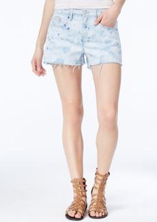 Calvin Klein Jeans Splatter-Print Cutoff Shorts