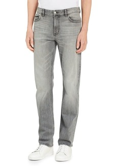 Calvin Klein Jeans Straight-Fit Stretch Jeans