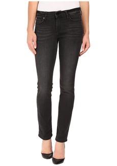 Calvin Klein Jeans Straight in Broke Black Denim
