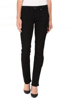 Straight Jeans in True Black