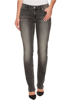Calvin Klein Jeans Straight Leg Jeans in Black Top Wash