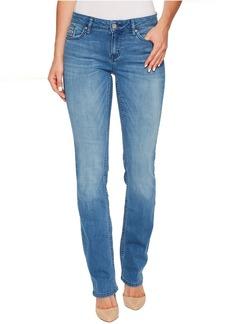 Straight Leg Jeans in Sunlit Blue Wash