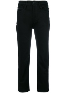 Calvin Klein Jeans straight tapered jeans - Black