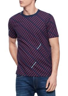 Calvin Klein Jeans Striped All-Over T-Shirt