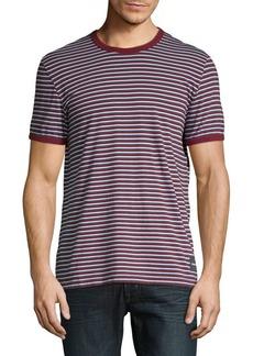 Calvin Klein Jeans Striped Ringer Tee