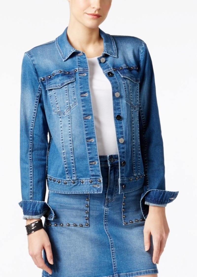 Calvin Klein Jeans Studded Denim Jacket