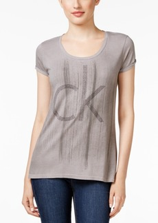 Calvin Klein Jeans Studded Logo Graphic T-Shirt
