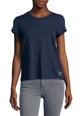 Calvin Klein Jeans True Logo Striped Cotton Tee