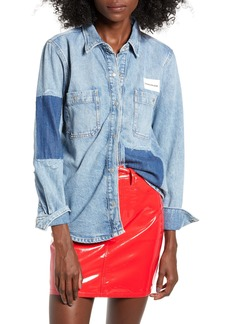 Calvin Klein Jeans Utility Patch Denim Shirt