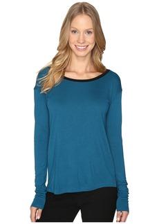 Calvin Klein Jeans V-Back Solid Long Sleeve Shirt
