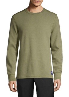 Calvin Klein Jeans Waffle-Knit Pullover Sweater