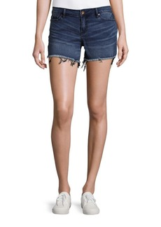 Calvin Klein Jeans Weekend Frayed Whiskered Denim Shorts