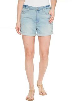 Calvin Klein Whisper Weight Boyfriend Shorts in Ocean Bleach