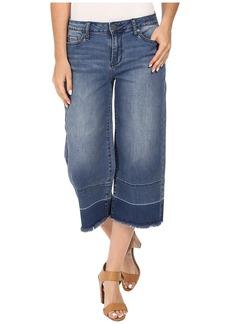 Calvin Klein Jeans Wide Leg Crop Jeans in High Tide