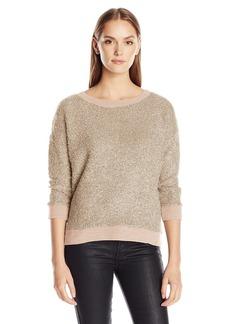 Calvin Klein Jeans Women's 3/4 Sleeve Fuzzy Sweater