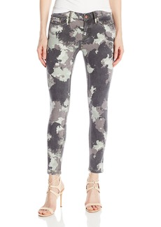 Calvin Klein Jeans Women's Abstract Camo Ankle Skinny Pant