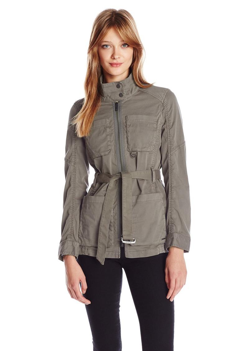 Calvin Klein Jeans Women's Belted Field Jacket