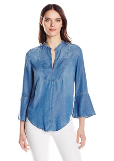 Calvin Klein Jeans Women's Boho Blouse Wash  SMALL