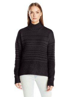 Calvin Klein Jeans Women's Boucle Funnel Neck Sweater  SMALL