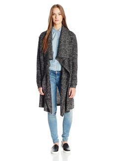 Calvin Klein Jeans Women's Boucle Open Front Cardigan Sweater  SMALL