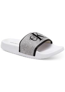 Calvin Klein Jeans Women's Carisse Flat Sandals Women's Shoes