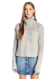 Calvin Klein Jeans Women's Chunky Knit Turtleneck Sweater  MEDIUM