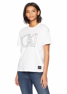 Calvin Klein Jeans Women's CKJ Soft Cotton Crewneck T-Shirt