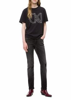 Calvin Klein Jeans Women's CKJ Soft Cotton Crewneck T-Shirt