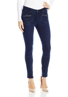 Calvin Klein Jeans Women's Clean Cargo Jean with Zipped Pockets Wash