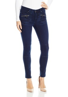 Calvin Klein Jeans Women's Clean Cargo Jean with Zipped Pockets Wash  32 32L