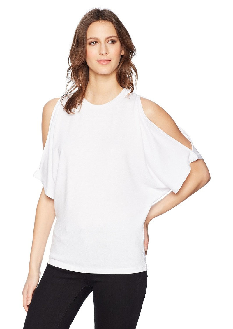 Calvin Klein Jeans Women's Cold Shoulder TOP  XS