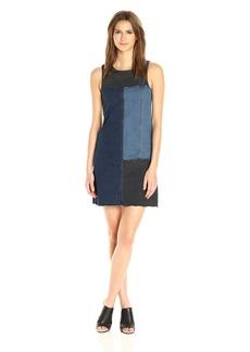 Calvin Klein Jeans Women's Color Block Denim Dress