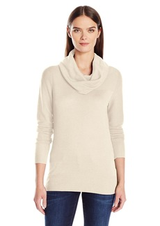 Calvin Klein Jeans Women's Cotton Modal Cowl Neck Sweater  LARGE