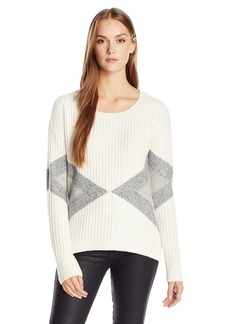 Calvin Klein Jeans Women's Cozy Color Block Sweater
