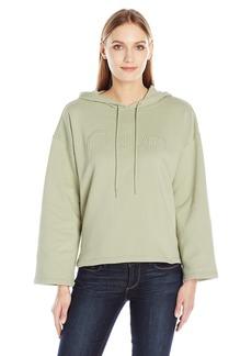 Calvin Klein Jeans Women's Cropped Logo Hoodie