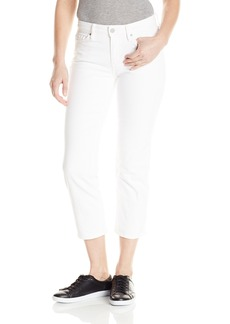 Calvin Klein Jeans Women's Cropped Straight Jean  32