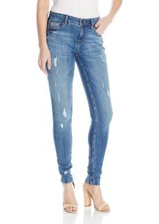 Calvin Klein Jeans Women's Curvy Skinny Ripped Jean  32/14  Regular