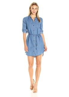 Calvin Klein Jeans Women's Denim Belted Shirt Dress