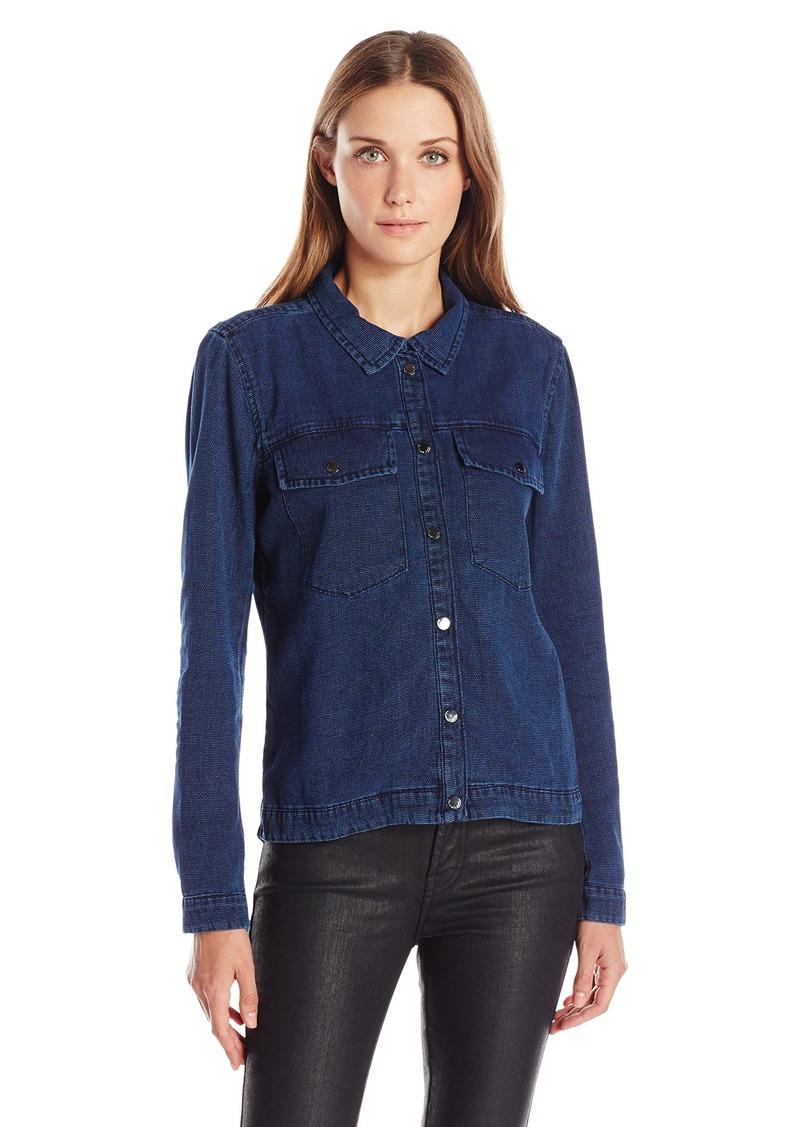 Calvin Klein Jeans Women's Denim Canvas Shirt Jacket