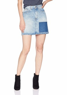 Calvin Klein Jeans Women's Denim Mini Jean Skirt