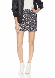 Calvin Klein Jeans Women's Denim Mini Jean Skirt