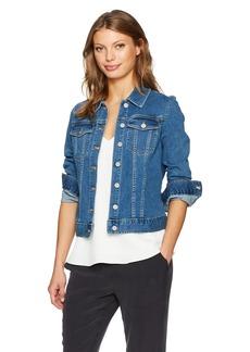 Calvin Klein Jeans Women's Denim Trucker Jacket  MEDIUM
